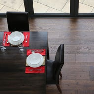 dark oak floating floor boards