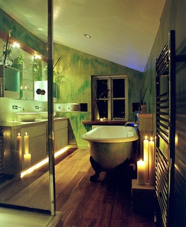 Green Bathroom -- photo by Rogue Designs