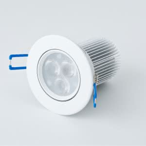 Integrated LED Light Fixture