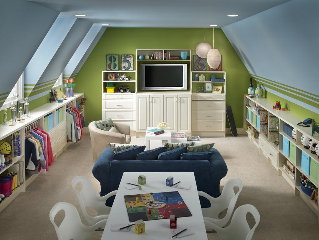 attic storage design
