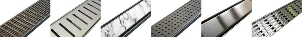 styles of shower grates