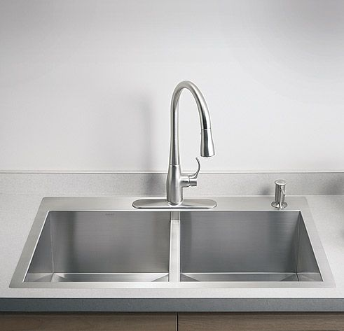 top mount stainless steel kitchen sink