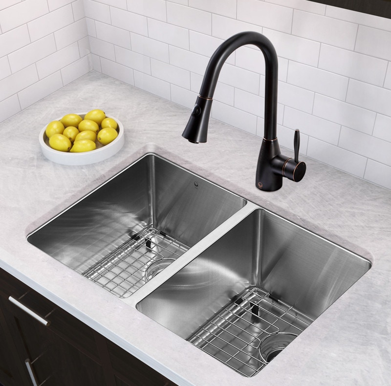 undermount stainless steel kitchen sink 304