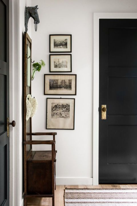 how to hang art to maximise space