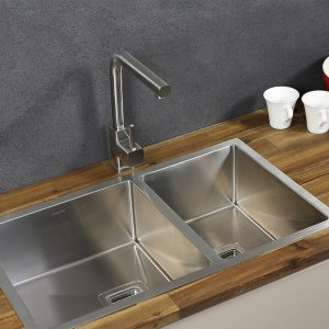 Sweedia Stainless Steel Sink And Tap Combination