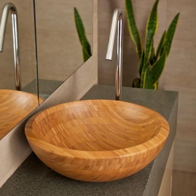 bamboo - bathroom sink, bamboo basins