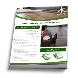 caring for hardwood flooring