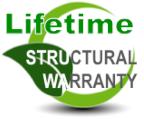 lifetime structural warranty
